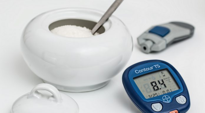Diabetes Typ 1 Symptome Glukometer und Zucker