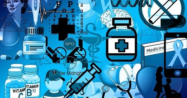 Lupus Ursachen - Zeichnung mit Medikamenten