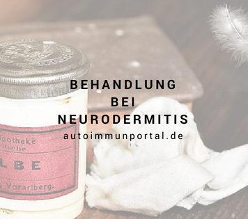 Behandlung bei Neurodermitis - Medikamente und mehr