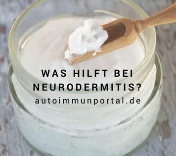 Was hilft bei Neurodermitis Hausmittel und Hilfsmittel