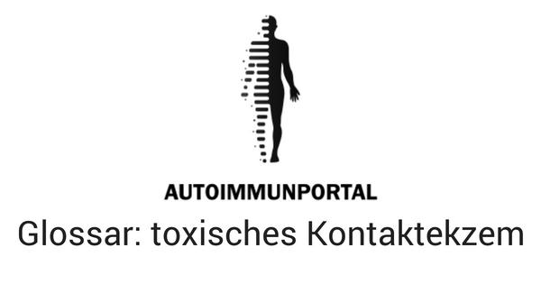 toxisches Kontaktekzem, Definition, Worterklärung