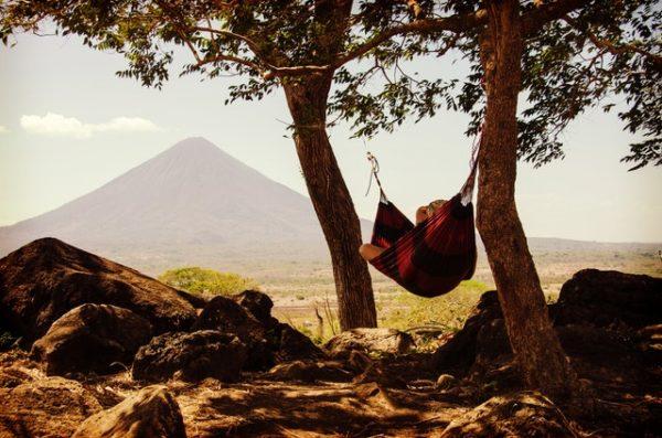 Depressionen - Stressreduktion ist wichtig, Hängematte, Urlaub, Auszeit