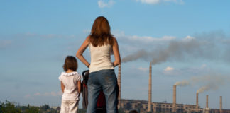 Kinder, Luftverschmutzung