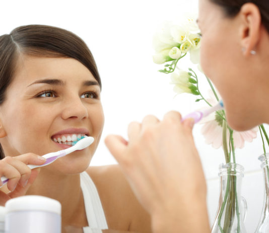 Lupus, Zahnpflege