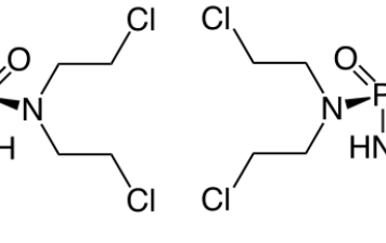 Cyclphosphamid Racemisch R (links) L (rechts)