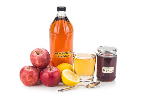 Apfelessig trinken